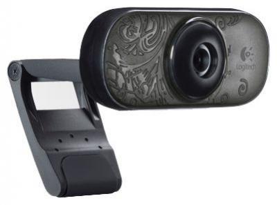 Веб-камера Logitech Webcam C210 (960-000657) - вид сбоку
