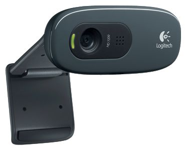 Веб-камера Logitech HD Webcam C270 (960-000808) - вид спереди