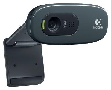 Веб-камера Logitech HD WebCam C270 Fingerprint (960-000799) - вид спереди