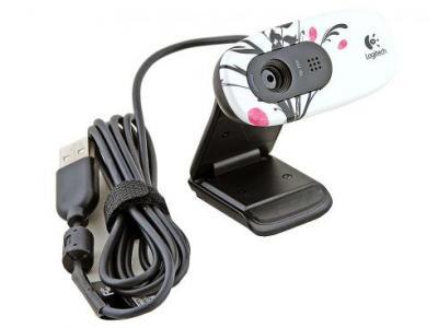 Веб-камера Logitech HD WebCam C270 Fingerprint (960-000799) - с кабелем