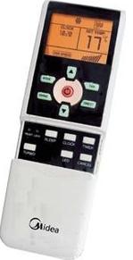 Кондиционер Midea MSE-07HR - пульт управления