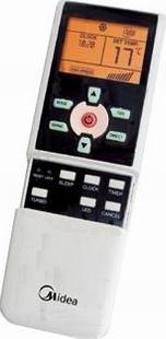 Сплит-система Midea MSE-09HRN1 - пульт управления