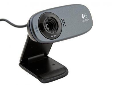 Веб-камера Logitech C310 (960-000638) - сбоку