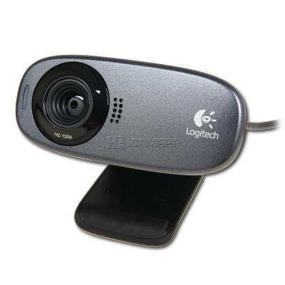 Веб-камера Logitech C310 (960-000638) - спереди