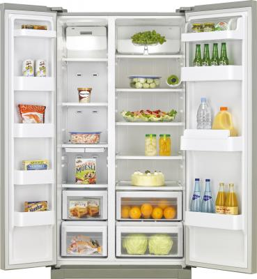 Холодильник с морозильником Samsung RSA1SHSL - общий вид