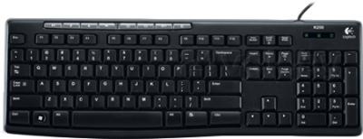 Клавиатура Logitech K200 (920-002779) - общий вид