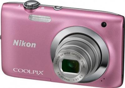 Компактный фотоаппарат Nikon S2600 Pink - Вид спереди