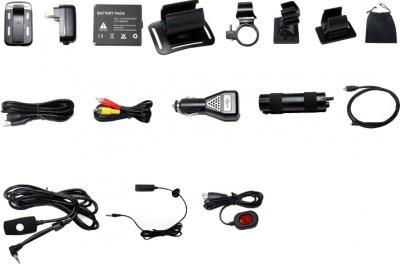 Автомобильный видеорегистратор QStar A7 Drive - комплектация