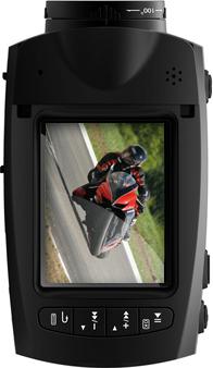 Автомобильный видеорегистратор CАМsports HDMax Extreme - дисплей