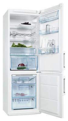 Холодильник с морозильником Electrolux ENB 34943 W - общий вид