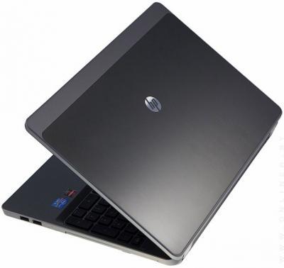Ноутбук HP 4330s (A6D87EA) - Вид сзади сверху