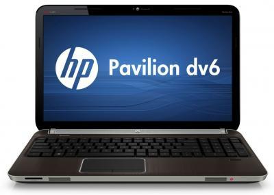 Ноутбук HP Pavilion dv6-6c05er (A8U49EA) - спереди