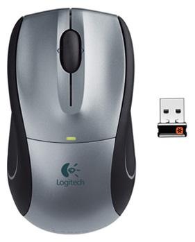 Мышь Logitech Cordless M505 (910-001320) - общий вид