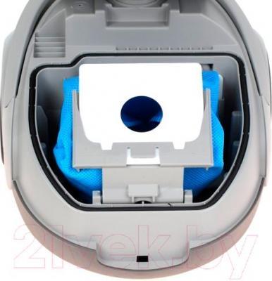 Пылесос Samsung SC5241 (VCC5241S3K/XEV) - фиксация пылесборника