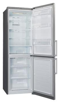 Холодильник с морозильником LG GA-B439BLCA - общий вид