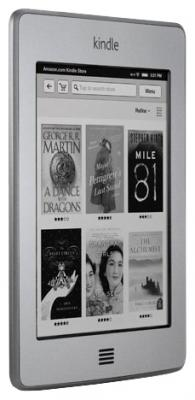 Электронная книга Amazon Kindle Touch - общий вид