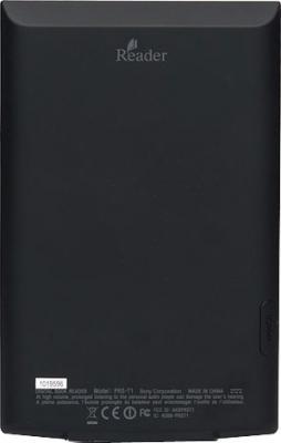 Электронная книга Sony PRS-T1BC - вид сзади