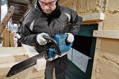 Профессиональная сабельная пила Bosch GFZ 16-35 AC Professional (0.601.637.708) - в работе