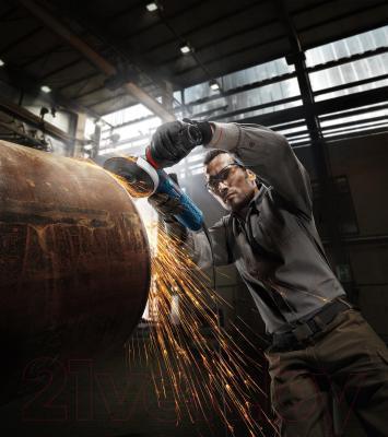 Профессиональная болгарка Bosch GWS 15-125 CIEH Professional (0.601.830.322) - в работе