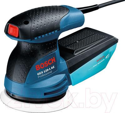 Профессиональная эксцентриковая шлифмашина Bosch GEX 125-1 AE Professional (0.601.387.500) - общий вид