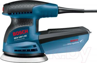 Профессиональная эксцентриковая шлифмашина Bosch GEX 125-1 AE Professional (0.601.387.500) - вид сбоку