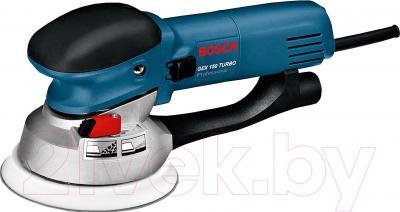Профессиональная эксцентриковая шлифмашина Bosch GEX 150 Turbo Professional (0.601.250.788) - общий вид
