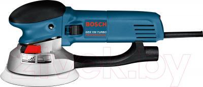 Профессиональная эксцентриковая шлифмашина Bosch GEX 150 Turbo Professional (0.601.250.788) - вид сбоку