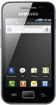 Смартфон Samsung S5830I Galaxy Ace Black - общий вид