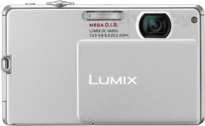 Компактный фотоаппарат Panasonic Lumix DMC-FP1EE-S - вид спереди