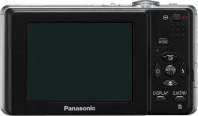Компактный фотоаппарат Panasonic Lumix DMC-FS12 Black - Вид сзади