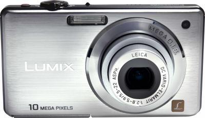 Компактный фотоаппарат Panasonic Lumix DMC-FS7EE-S - общий вид