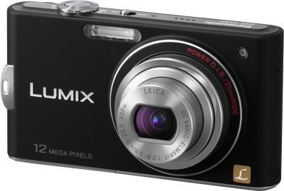 Компактный фотоаппарат Panasonic Lumix DMC-FX60EE-K - общий вид