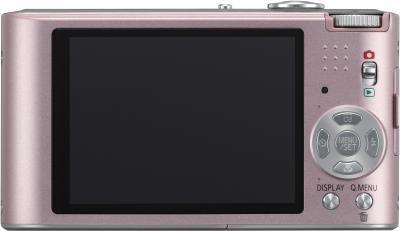 Компактный фотоаппарат Panasonic Lumix DMC-FX60EE-P - общий вид