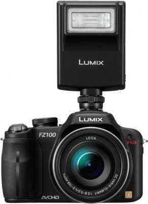 Беззеркальный фотоаппарат Panasonic Lumix DMC-FZ100  - общий вид