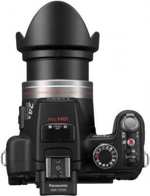 Беззеркальный фотоаппарат Panasonic Lumix DMC-FZ100  - вид сверху