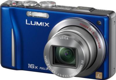 Компактный фотоаппарат Panasonic Lumix DMC-TZ20EE-A - общий вид