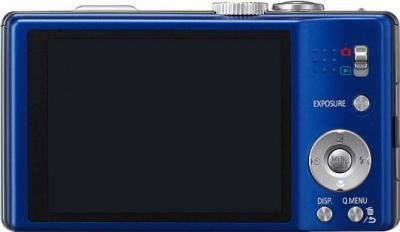 Компактный фотоаппарат Panasonic Lumix DMC-TZ20EE-A - вид сзади