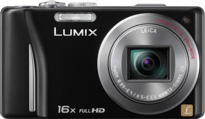 Компактный фотоаппарат Panasonic Lumix DMC-TZ20EE-K - общий вид