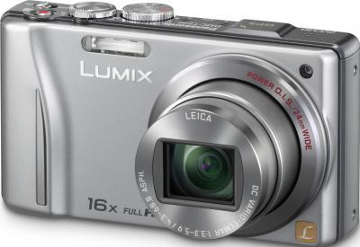 Компактный фотоаппарат Panasonic Lumix DMC-TZ20EE-S - общий вид