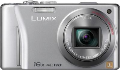 Компактный фотоаппарат Panasonic Lumix DMC-TZ20EE-S - вид спереди