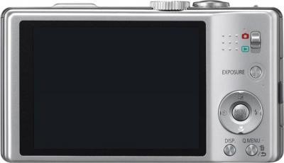 Компактный фотоаппарат Panasonic Lumix DMC-TZ20EE-S - вид сзади