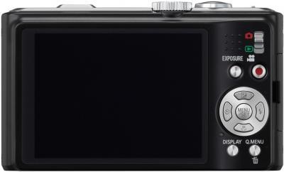 Компактный фотоаппарат Panasonic Lumix DMC-TZ10EE-K - общий вид