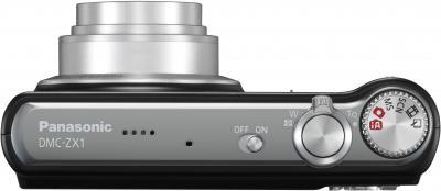 Компактный фотоаппарат Panasonic Lumix DMC-ZX1EE-K - общий вид