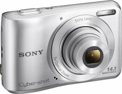 Компактный фотоаппарат Sony Cyber-shot DSC-S5000 (Silver) - общий вид