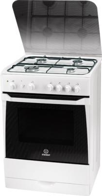 Кухонная плита Indesit KN 6G210 (W) - общий вид