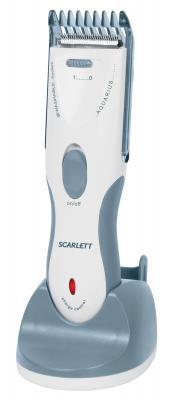 Машинка для стрижки волос Scarlett SC-262 White-Gray - общий вид