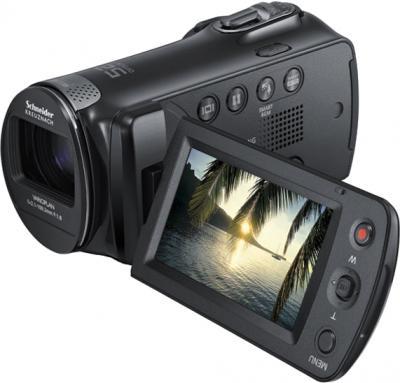Видеокамера Samsung HMX-F80BP - дисплей