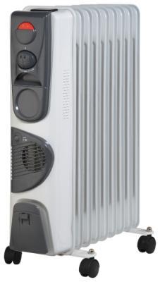 Масляный радиатор Aresa OFR-01F-09 - общий вид