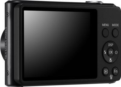 Компактный фотоаппарат Samsung ST77 (EC-ST77ZZBPBRU) Black - вид сзади