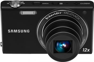 Компактный фотоаппарат Samsung WB210 Black - общий вид